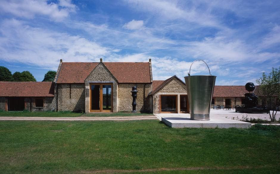 Trip to Hauser and Wirth, Somerset