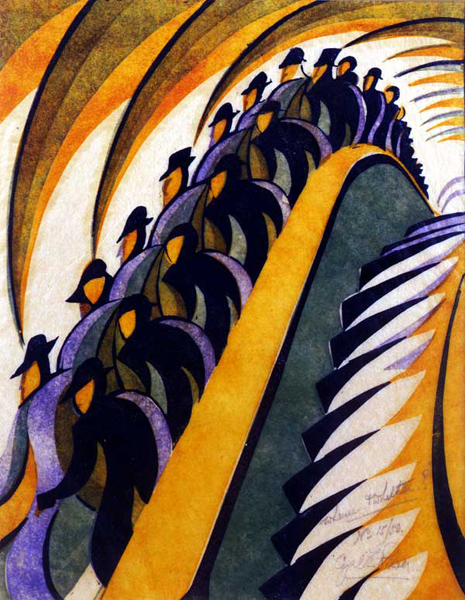 SOLD OUT! – The Cutting Edge of Modernity: British Colour Linocuts of the 1920s and 30s by Gordon Samuel