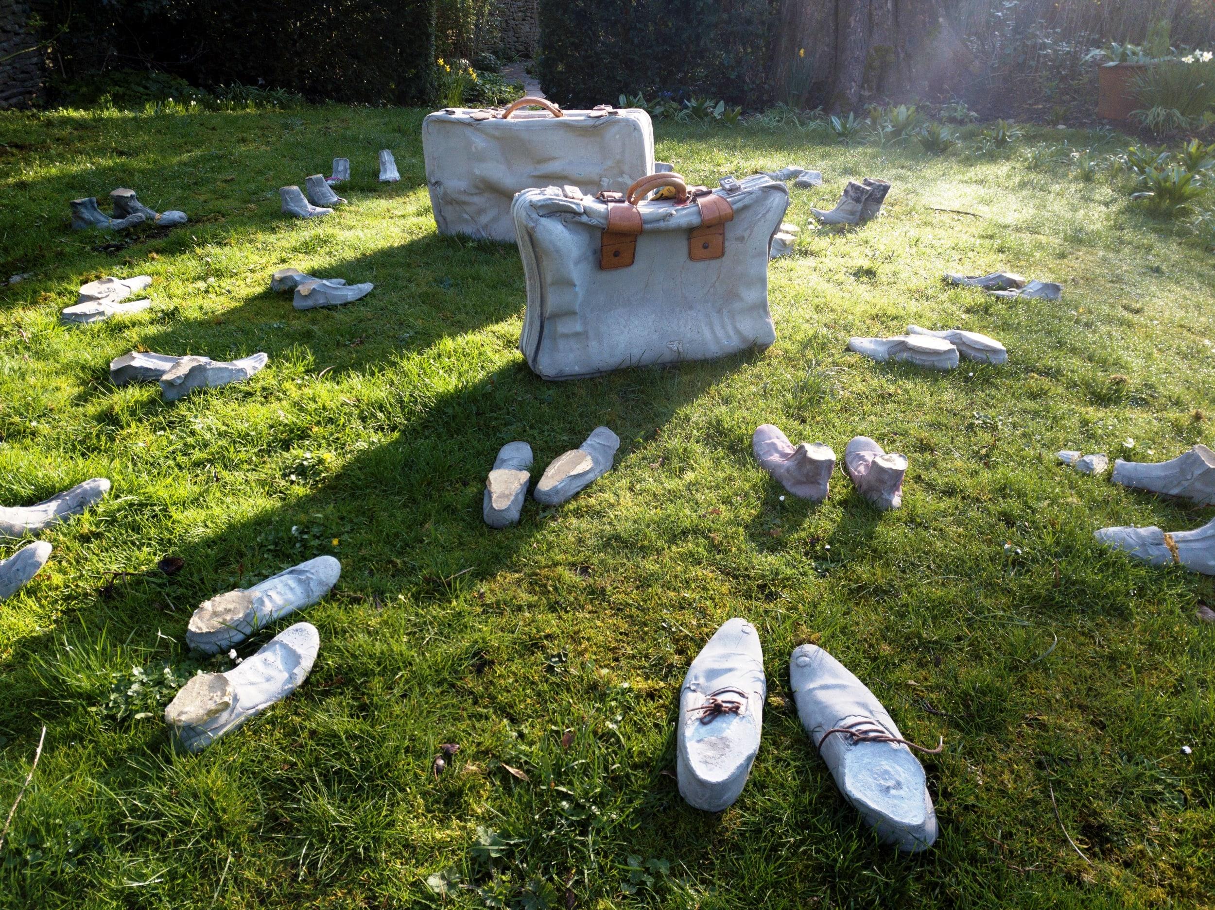 Trip to Fresh Air Sculpture Show
