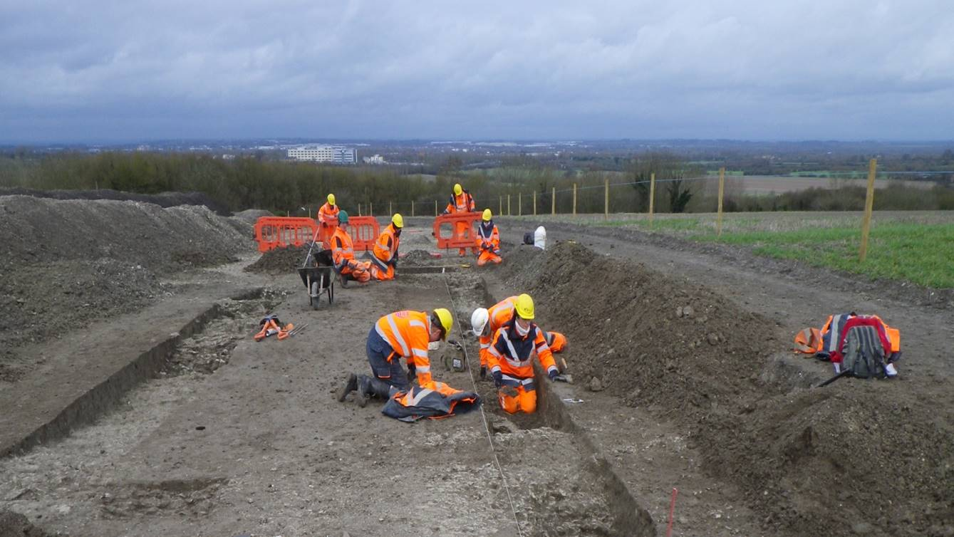 Recent Archaeological Discoveries in the Swindon Area